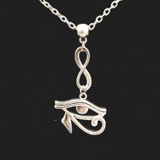 Eye of Horus infinity necklace