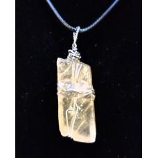 Yellow calcite wrap